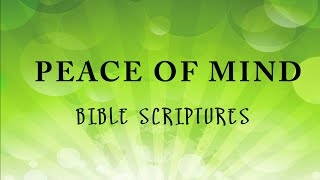 peace of mind audio bible scriptures to harp