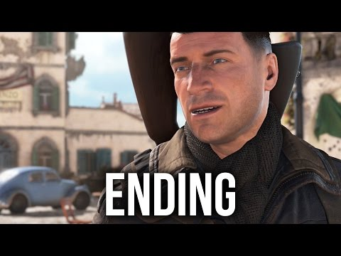 Sniper Elite 4 ENDING Walkthrough - ALLAGRA FORTRESS (Mission 8)