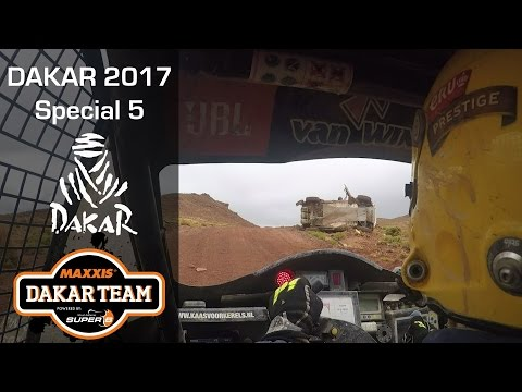 Dakar stage 5, Tim in, Tom out? Bivouac cancelled. Dakar 2017