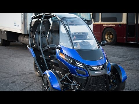 Arcimoto SRK: a crazy, street-legal electric trike