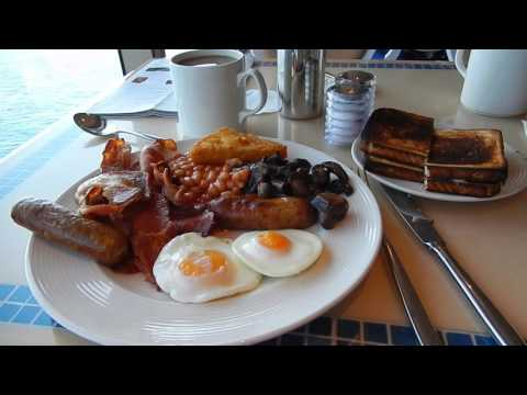 Cunard Queen Victoria Cruise Food Diary