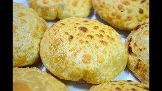 स्वादिष्ट और नये तरह से बनाये चना दाल पुरी - Chana Dal Puri Recipe   Stuffed Puri   Recipeana