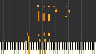 September In The Rain - Jazz piano solo tutorial