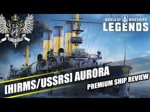WoWS: Legends - Aurora - Premium Ship Review - YouTube