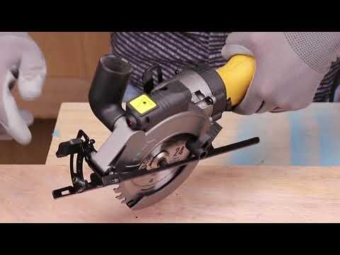 """Ginour 4-1/2"""" Compact Electric Circular Saw Set"""
