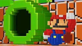 Super Mario Odyssey - 8-Bit Mario Costume (DLC Gameplay)