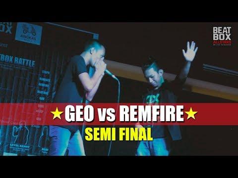 GEO vs REMFIRE - CDOBB 2018 - SEMI-FINAL