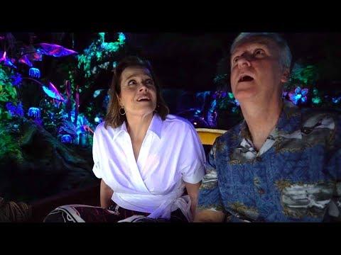 Sigourney Weaver & James Cameron react to Na