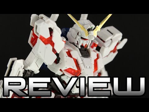 RG Unicorn Gundam Review - MOBILE SUIT GUNDAM UNICORN ユニコーンガンダム