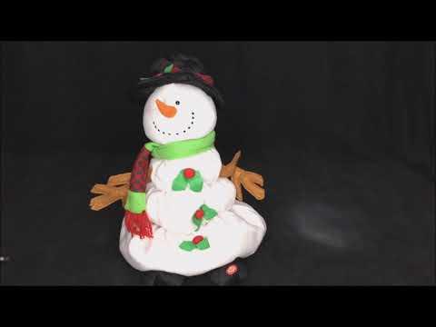 TL Toys HK Ltd Frosty the Melting Snowman Animated Musical Christmas Plush