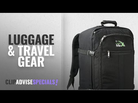 ebcc8f03c 10 Best Selling Cabin Max Luggage & Travel Gear [2018 ]: Cabin Max Metz Backpack  Flight Approved - YouTube