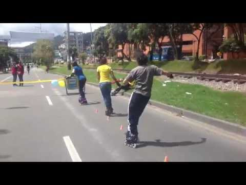 Freestyle Slalom Colombia Friends Time¡¡¡