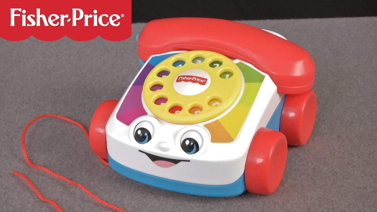 fisher price chatter phone from the bridge direct youtube. Black Bedroom Furniture Sets. Home Design Ideas