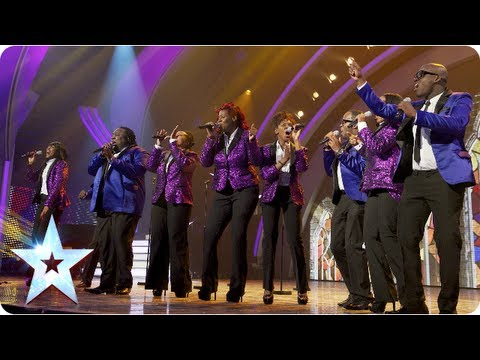 Gospel Singers Incognito sing 'Oh Happy Day' | Semi-Final 5 | Britain's Got Talent 2013