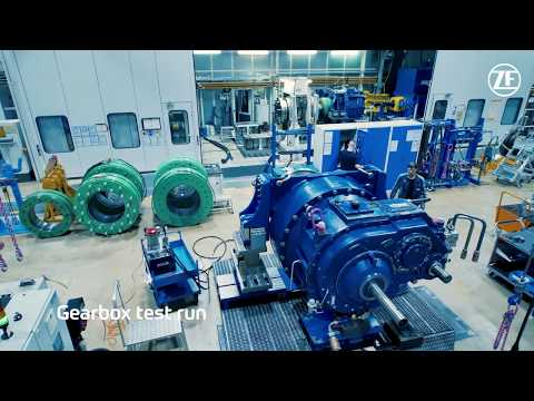 Service for wind energy in motion