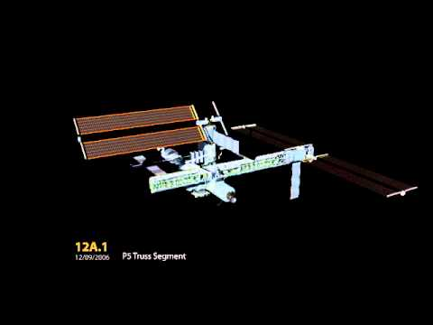International Space Station Assembly (With Titles)