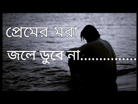 Premer Mora Jole Dobe Na |প্রেমের মরা জলে ডুবে না   [ Tere nam song video.. Edited ]