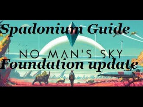 No Man's Sky, Spadonium Guide, Builder Quest, Foundation