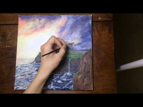 Painting the Faroe Islands