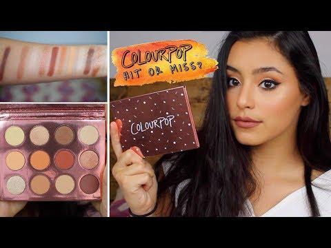 NEW!!! Colourpop Double Entendre Palette | Swatches + Makeup Tutorial