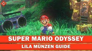 Super Mario Odyssey: Alle Sammelobjekte (lila Münzen - Forstland) - Collectible Locations Guide