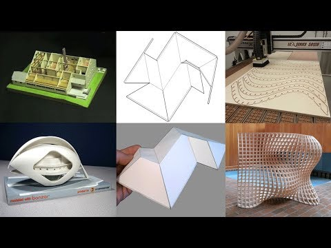 Digital fabrication and 3D Printing with formZ