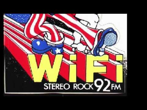 Before we had wifi There was WIFI 92 FM Philadelphia - Aircheck 1975, 77