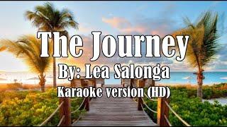 The Journey by Lea Salonga Karaoke Version  HD