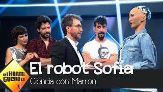 El robot humanoide Sofía, único en el mundo, llega al plató - El Hormiguero 3.0