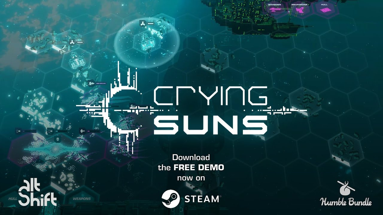 Presented by Humble Bundle: Crying Suns - Launch Trailer - YouTube