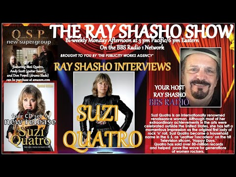 SUZI QUATRO 'ROCK AND ROLL HEROINE' EXCLUSIVE