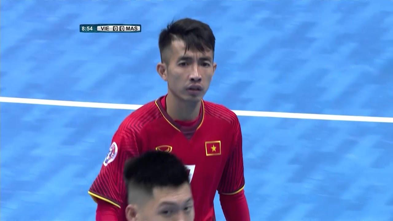 Video: Futsal Việt Nam vs Futsal Malaysia