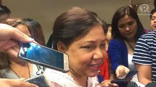 Senator Cynthia Villar on the Boracay rehabilitation efforts