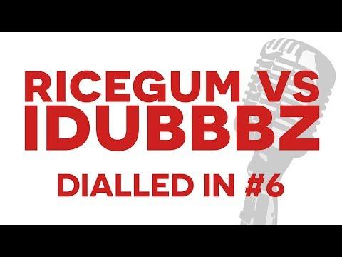 Ricegum vs iDubbbz Content Cop! - DIALLED IN #6