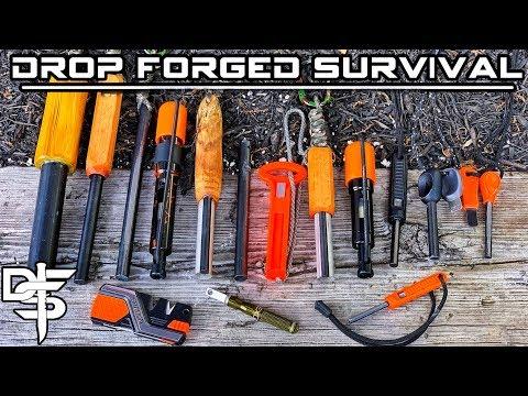 20 Firesteel Ferro Rods Put To The Test!