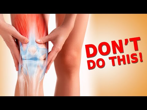 This Common Mistake Will Make Your Joint Pain Worse