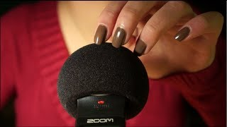 ASMR. Touching, Scratching & Brushing the Microphone