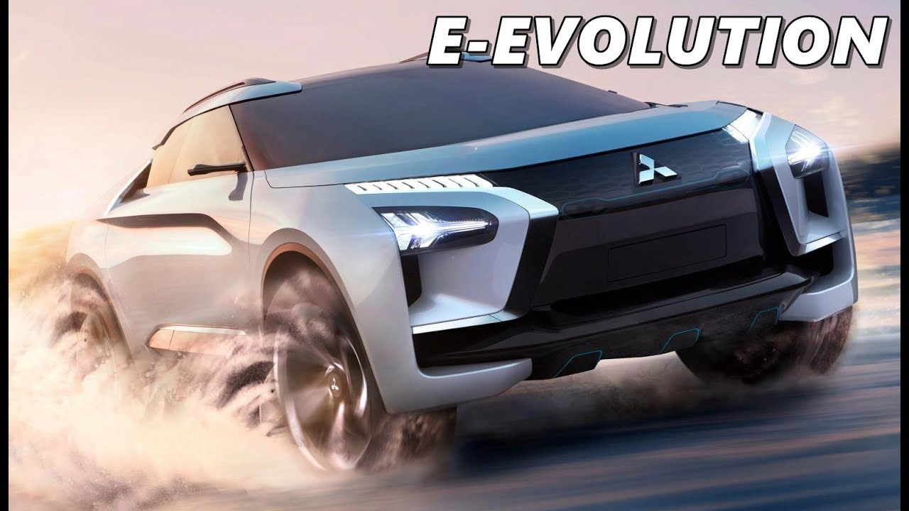 mitsubishi e-evolution concept - first look - youtube