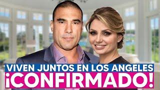 Angélica Rivera y Eduardo Yáñez VIVEN JUNTOS en Los Angeles!