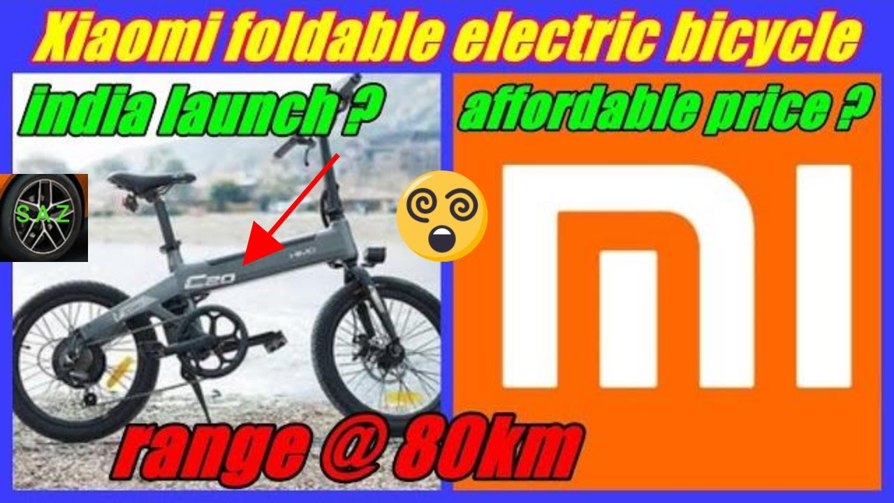 734c16dc80e Xiaomi launch foldable electric bicycle Himo C20/Himo C20 price range top  speed anf features.