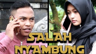 SALAH NYAMBUNG   Parodi lagu Sayang 2 Nella kharisma   KOCLOK SEKALI