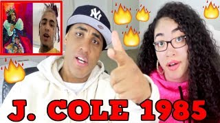 J. Cole 1985 REACTION | J COLE 1985 LIL PUMP DISS THOUGHTS & OPINIONS | MY DAD REACTS TO J COLE 1985