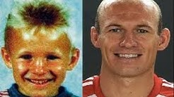 Arjen Robben - Transformation From 6 To 33 Years Old [Mr.Wembley] [HD]