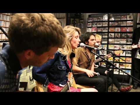 Wolf Alice  Bros  acoustic performance in Brighton