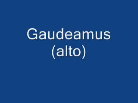 gaudeamus igitur alto mp3