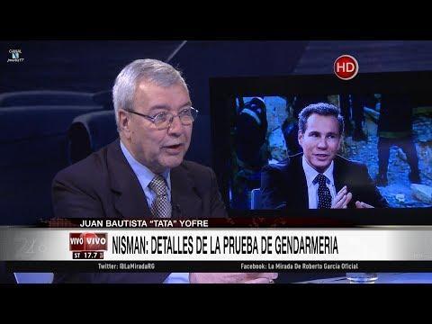 """""""Tata"""" Yofre en """"La mirada"""", de Roberto García - 18/09/17"""