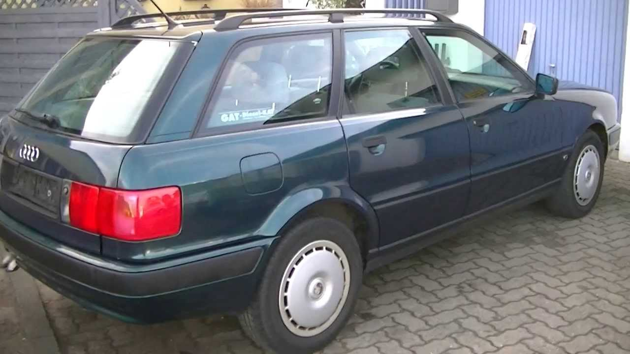 audi 80 avant b4 kombi diesel 1 9 tdi youtube. Black Bedroom Furniture Sets. Home Design Ideas