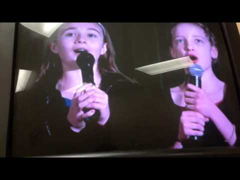 The St michael school  talent show song