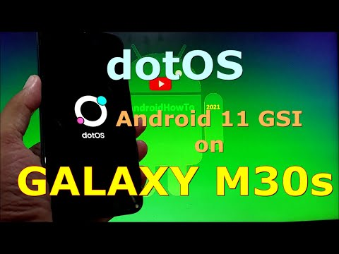 DotOS v5.1 Android 11 GSI on Samsung Galaxy M30s