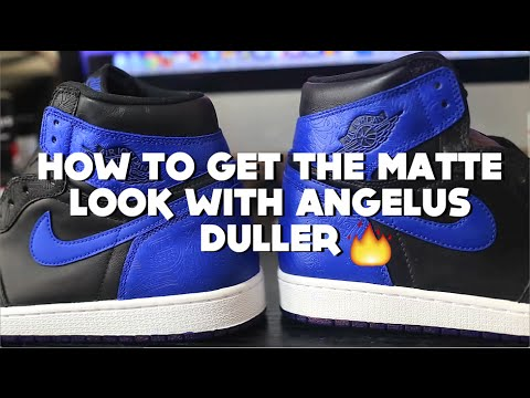 How To Use Angelus Duller For A Matte Finish + How To Control Gloss Shine In Your Finisher